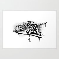 3D Graffiti - Dream Art Print