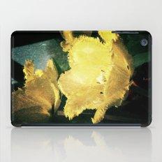 yellow tulip  iPad Case