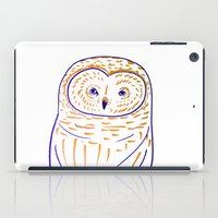 The Owl. Owl art, owls, owl print, owl illustration, nature, animals, children's  iPad Case