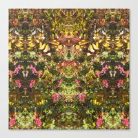 Foliage - Patterned Canvas Print
