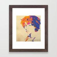 Ode To Corrine Framed Art Print