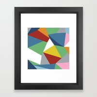 Abstraction Zoom Framed Art Print
