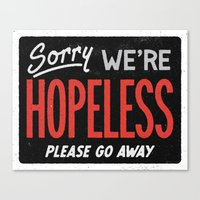 Hopeless Canvas Print