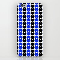 HobNob BlueBlack Print, … iPhone & iPod Skin