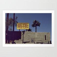 No-Tel Motel Art Print