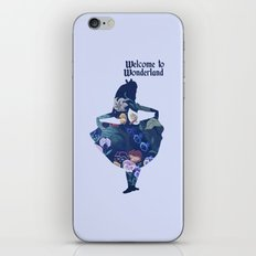 Alice In Wonderland - Bl… iPhone & iPod Skin