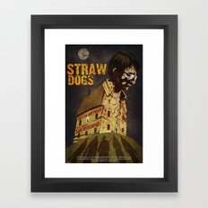 Straw Dogs Framed Art Print