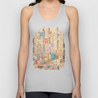 Monster forest Unisex Tank Top