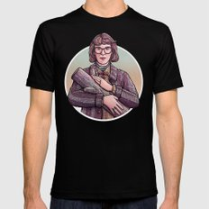 Log Lady Mens Fitted Tee Black SMALL