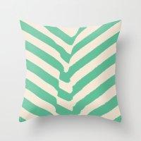 PARK PLANTS 002 — Matthew Korbel-Bowers Throw Pillow
