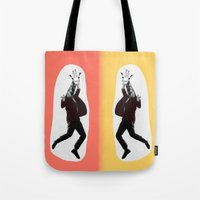 Giraffe In A Suit By Deb… Tote Bag