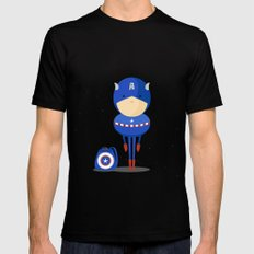 My dreaming hero! Black SMALL Mens Fitted Tee