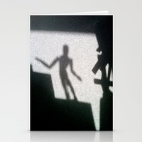 Shadow of the mannikin Stationery Cards
