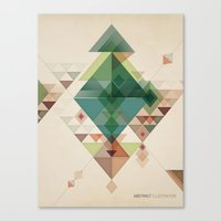 Abstract illustration Canvas Print