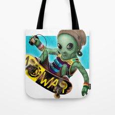 Area 51 Skate Park Tote Bag