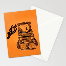 Fat Beat! Stationery Cards