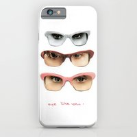 iPhone & iPod Case featuring Eye like you by Laurel Howells
