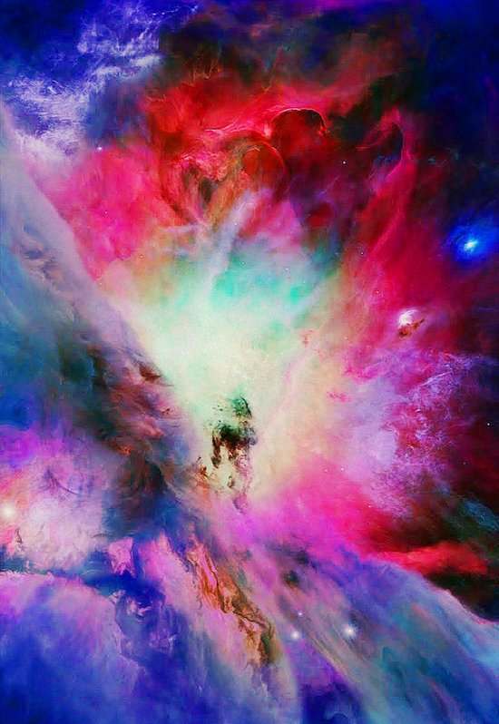 Cosmic Blossom Canvas Print