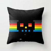 Superbreakout Skull Throw Pillow
