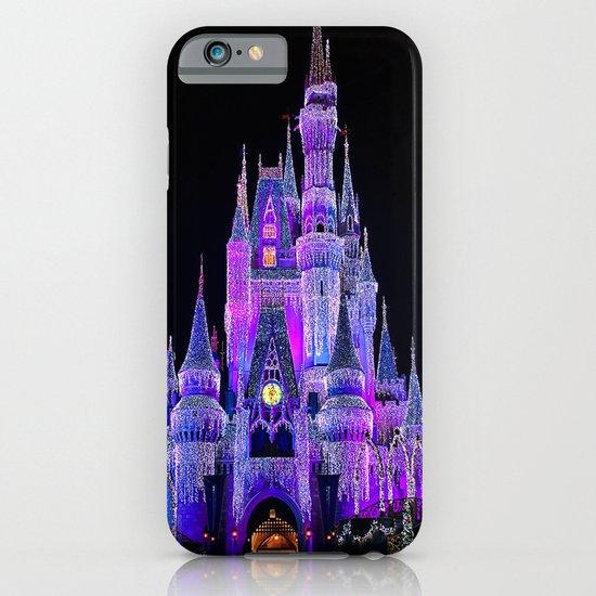 Walt Disney World Christmas Lights iPhone & iPod Case