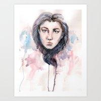 waterheart Art Print