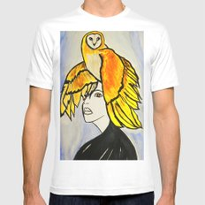 Soul Mate SMALL Mens Fitted Tee White