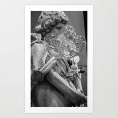 Bubbles at Dusseldorf Art Print