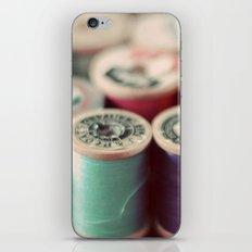 spools iPhone & iPod Skin