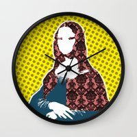 Mona Lisa SW+C X2 Wall Clock