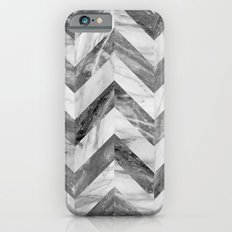 Marble chevron Slim Case iPhone 6s