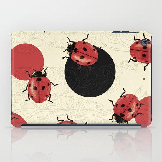 Ladybird Polka iPad Case