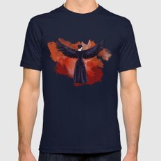 Mockingjay Mens Fitted Tee Navy SMALL