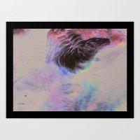 Elk Eye Art Print