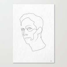 One Line Community: Abed Nadir Canvas Print