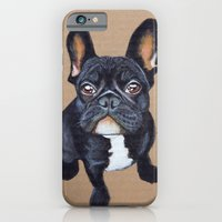 iPhone & iPod Case featuring French Bulldog by PaperTigress