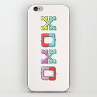 Color-Blocked XOXO iPhone & iPod Skin