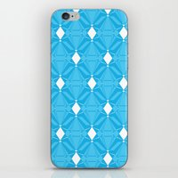Abstract [BLUE] Emeralds iPhone & iPod Skin