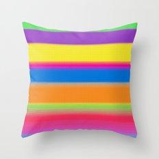 Candy Stripes. Throw Pillow