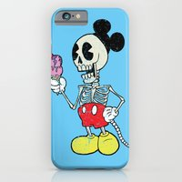 iPhone & iPod Case featuring Mickey Bones by Alejandro Giraldo