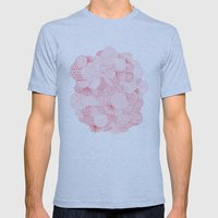 Fireworks Mens Fitted Tee Athletic Blue SMALL