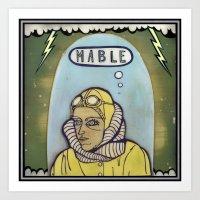 Mable Art Print