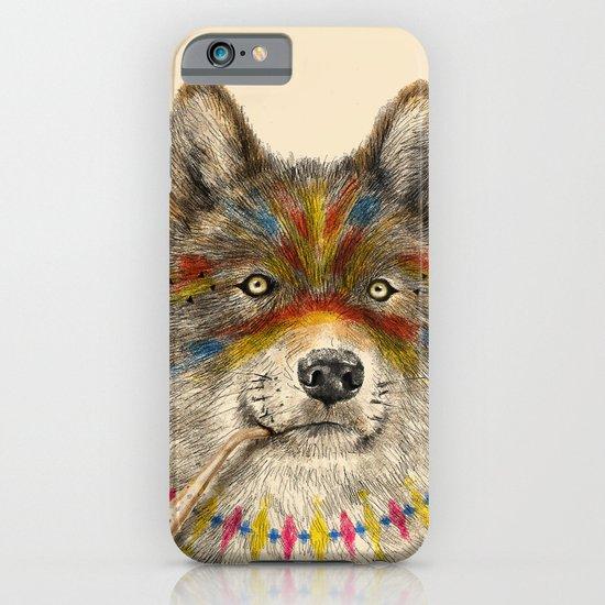 Cherokee Wolf iPhone & iPod Case