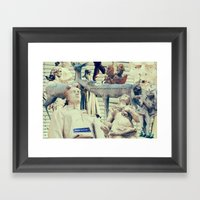 Come To Me, I'll Rest Yo… Framed Art Print