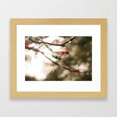 I'm Dreaming of a ... Wet Christmas? Framed Art Print