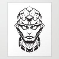 Mass Effect. Thane Art Print