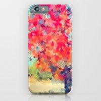Orange Tree Watercolor  iPhone 6 Slim Case