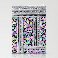 Psychedelic blanket Stationery Cards