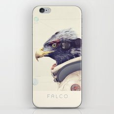 Star Team - Falco iPhone & iPod Skin