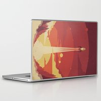 Laptop & iPad Skin featuring Atomic Sky by The Art of Danny Haas