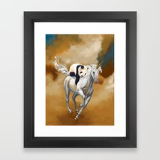 Super Buddies Framed Art Print